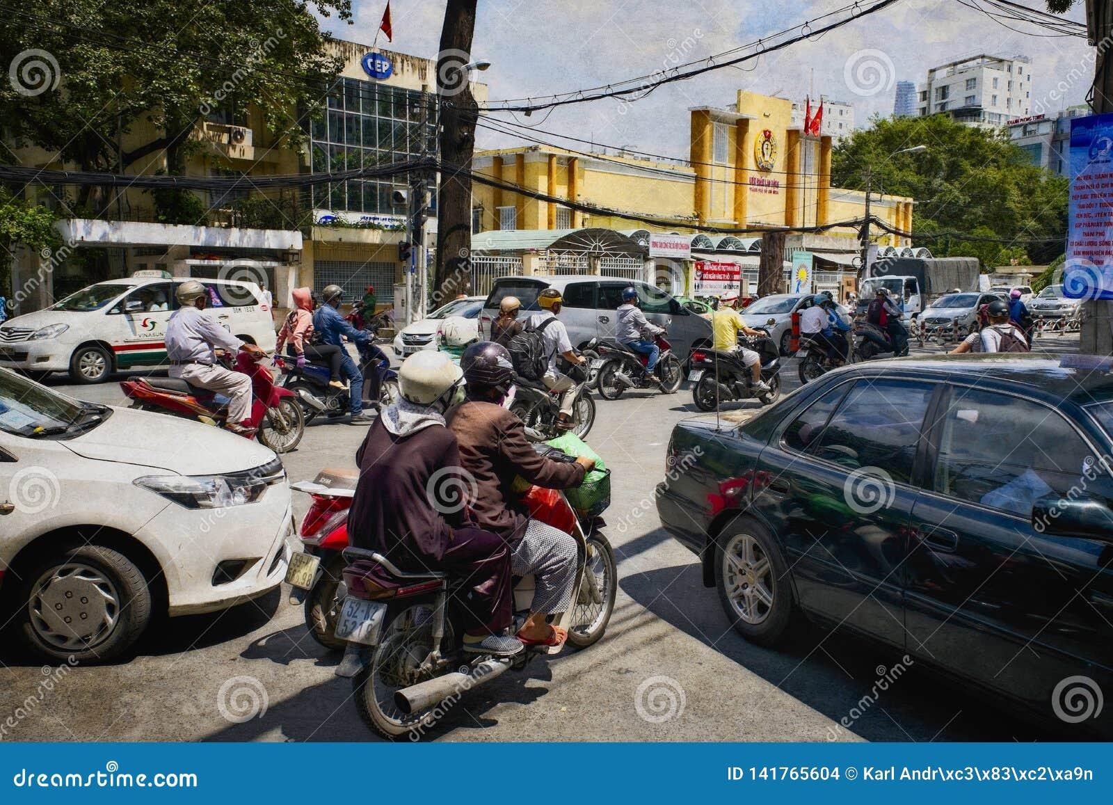 Environnement Ho Chi Minh Saigon de ville