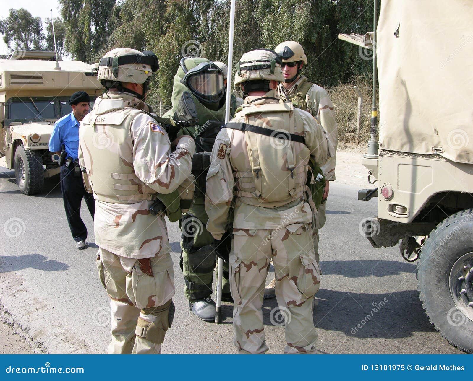 EOD Team, Bagdad