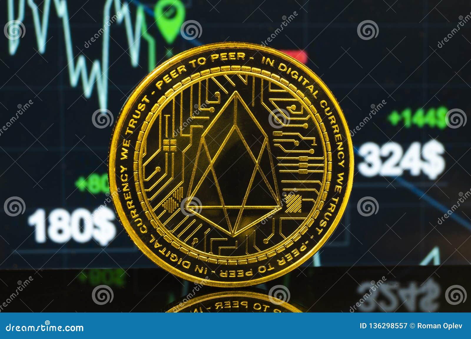 EOS είναι ένας σύγχρονος τρόπος της ανταλλαγής και αυτού του crypto νομίσματος