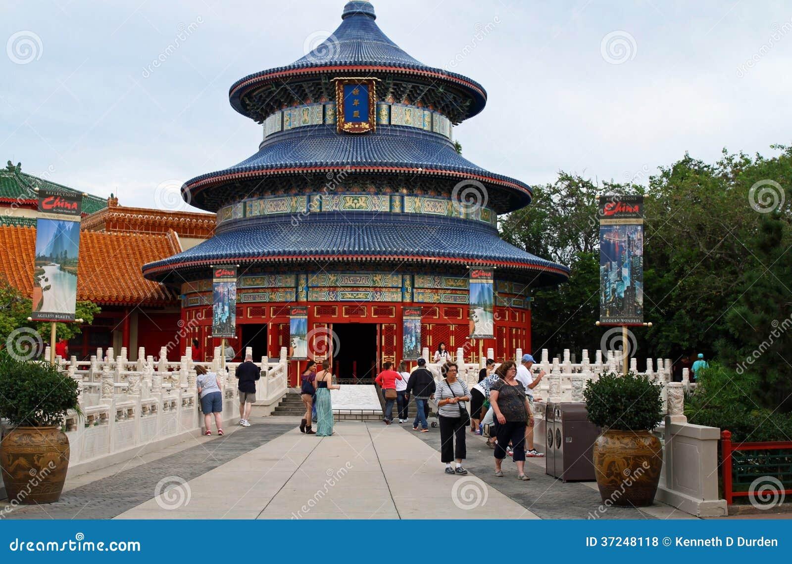 Epcot中国