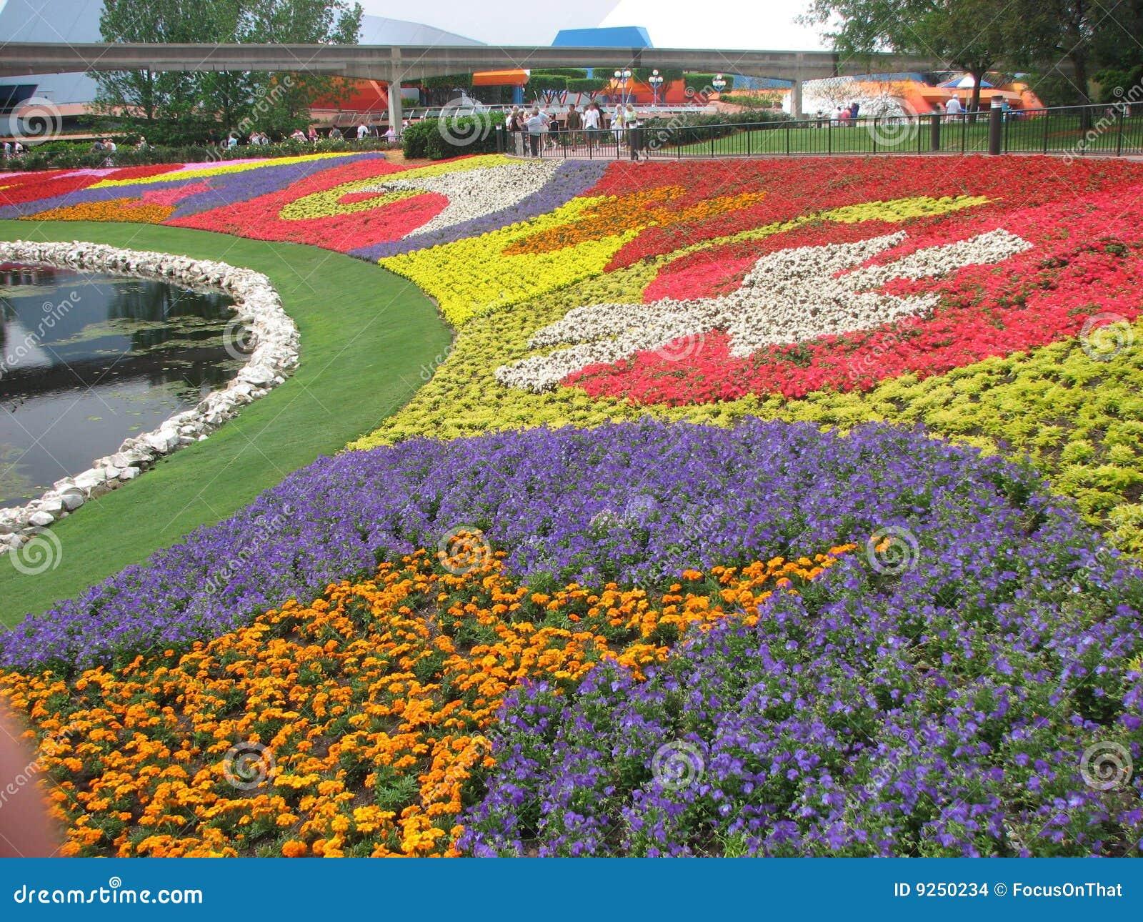 Epcot κήπος λουλουδιών φεστιβάλ