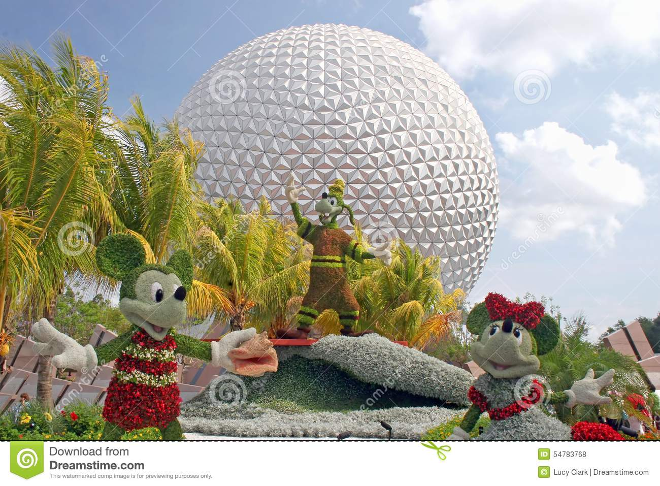 Epcot Flower And Garden Festival Editorial Stock Photo - Image of