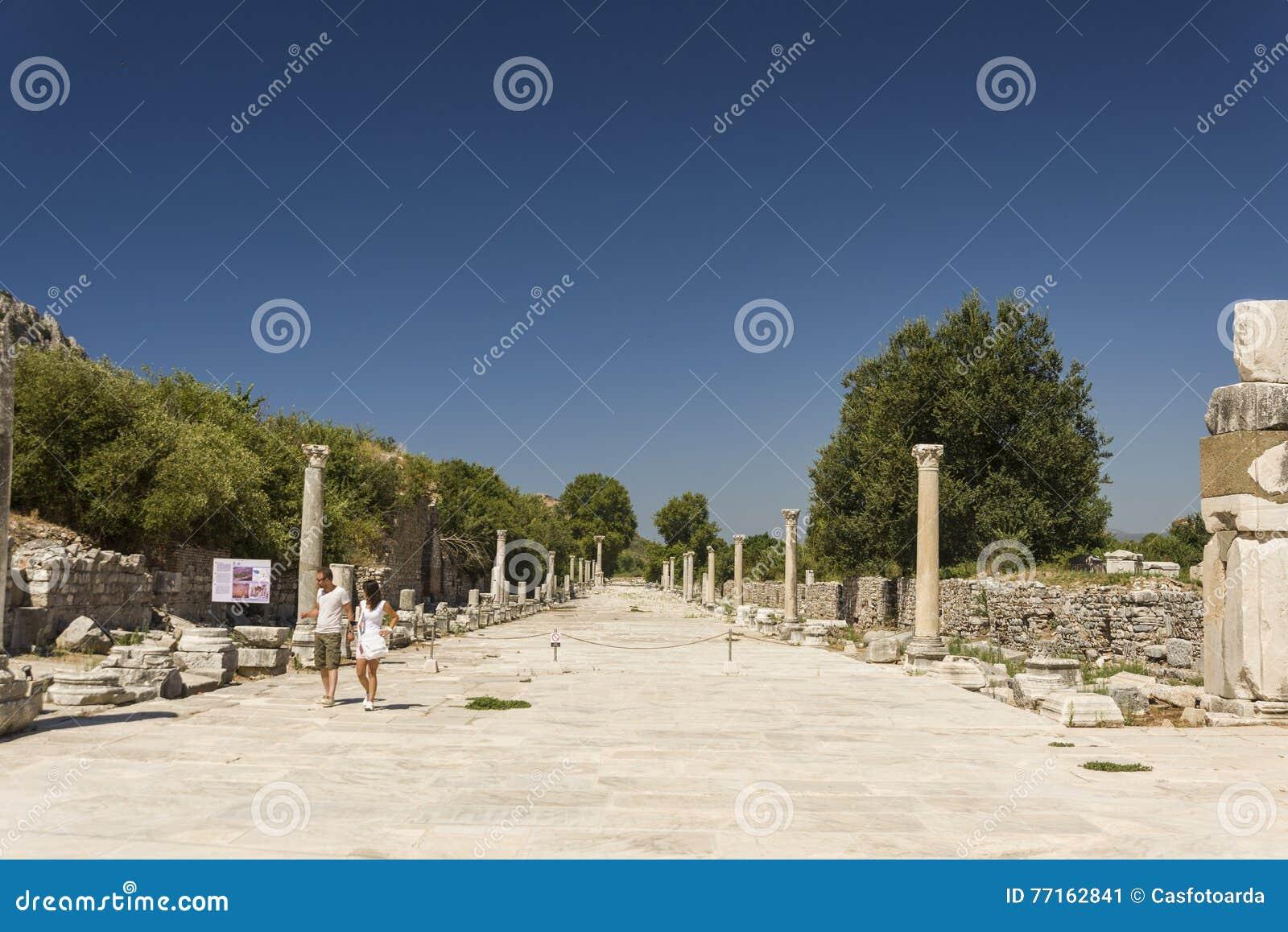Ephesus antique de ville