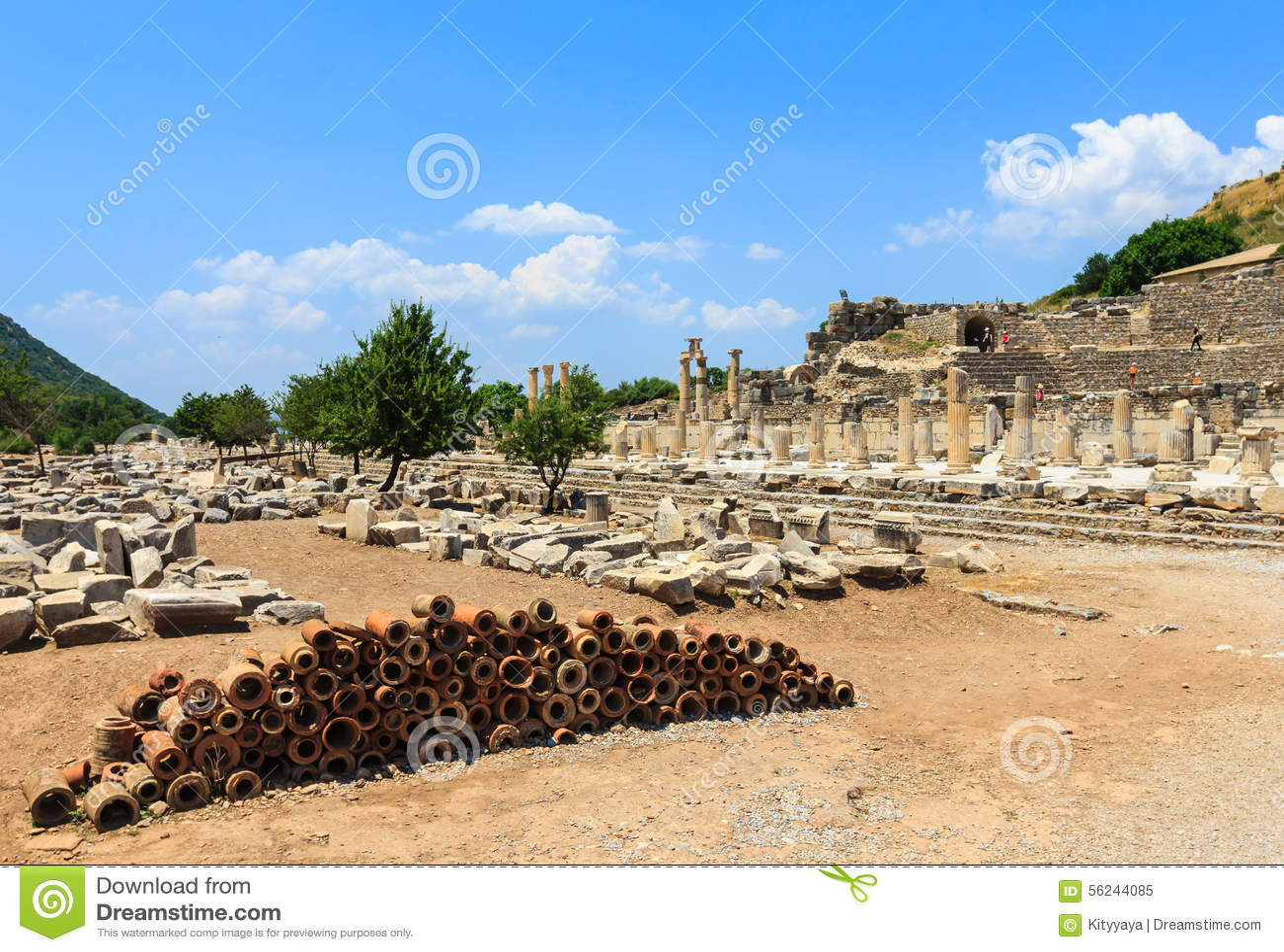 Ephesus, die Türkei