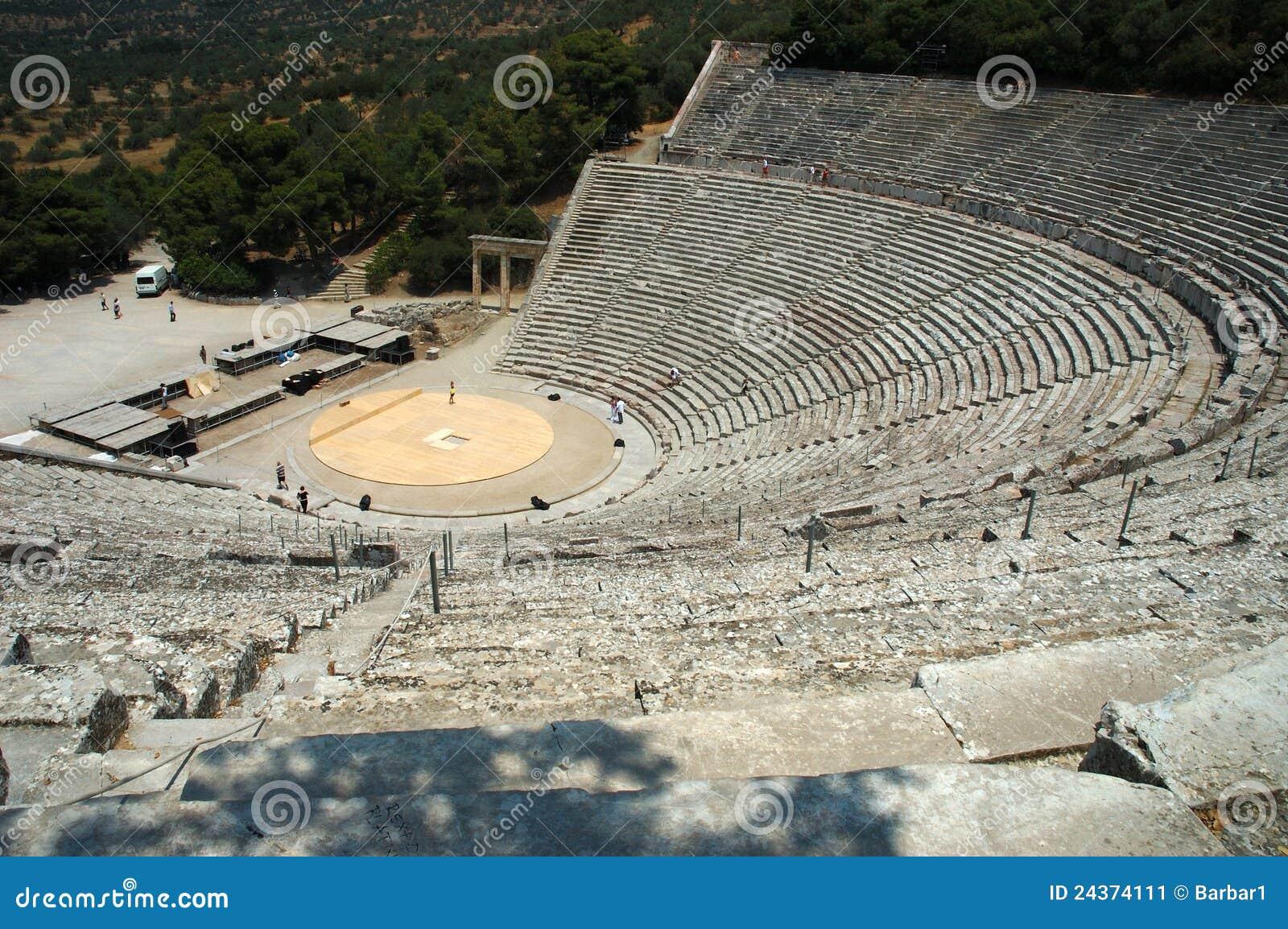 Epidauros teatr