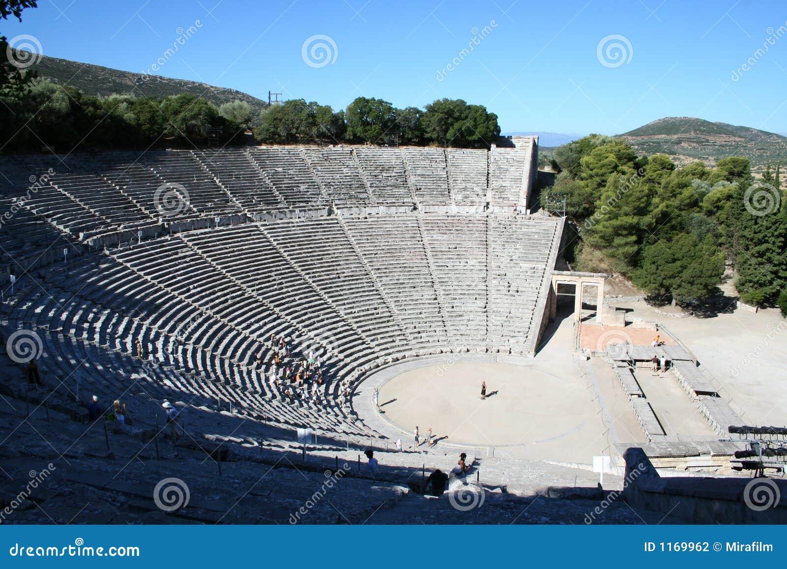 Epidavros - il peloponneso - la Grecia