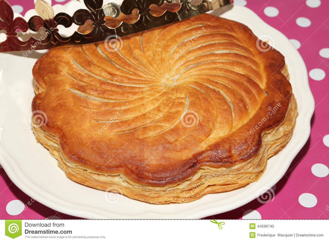 Epiphany Cake Stock Photo - Image: 44596745