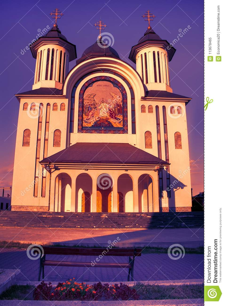 The Episcopal Cathedral of Drobeta Turnu Severin city