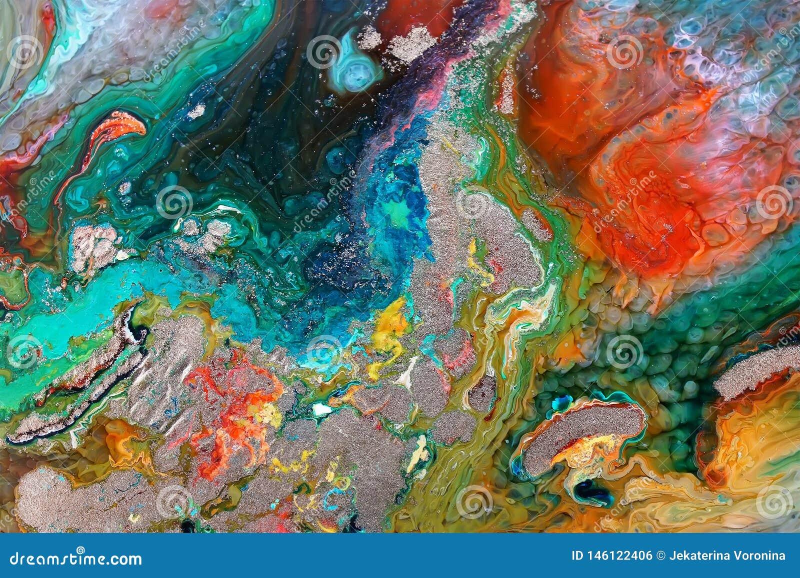 Epoxy Resin Petri Dish Art stock photo  Image of artistic - 146122406