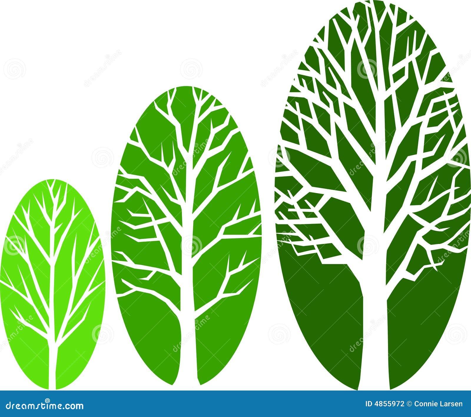Eps增长长圆形结构树