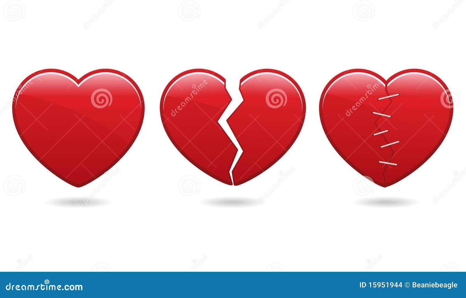 Eps εικονίδια καρδιών