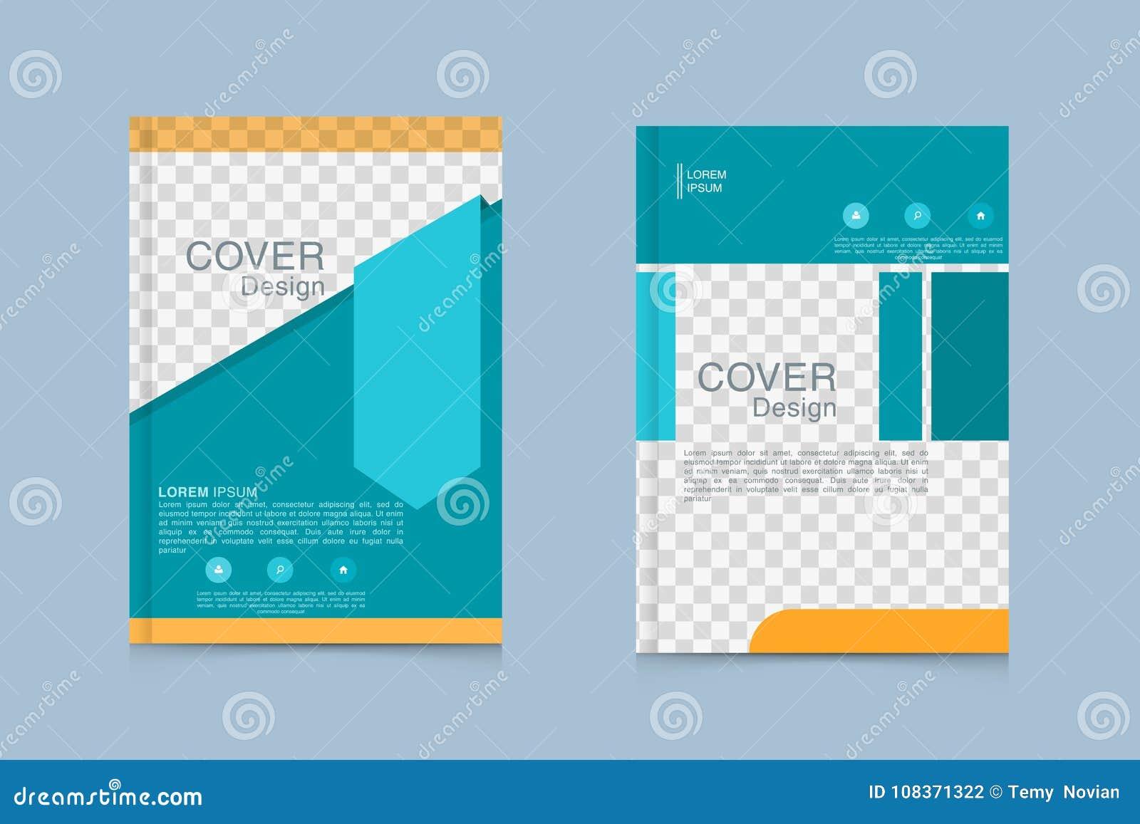 Brochure Design Template Flyers Annual Report Business Magazine