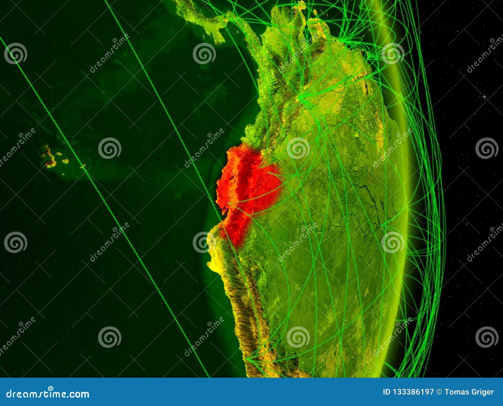 Equador na terra digital