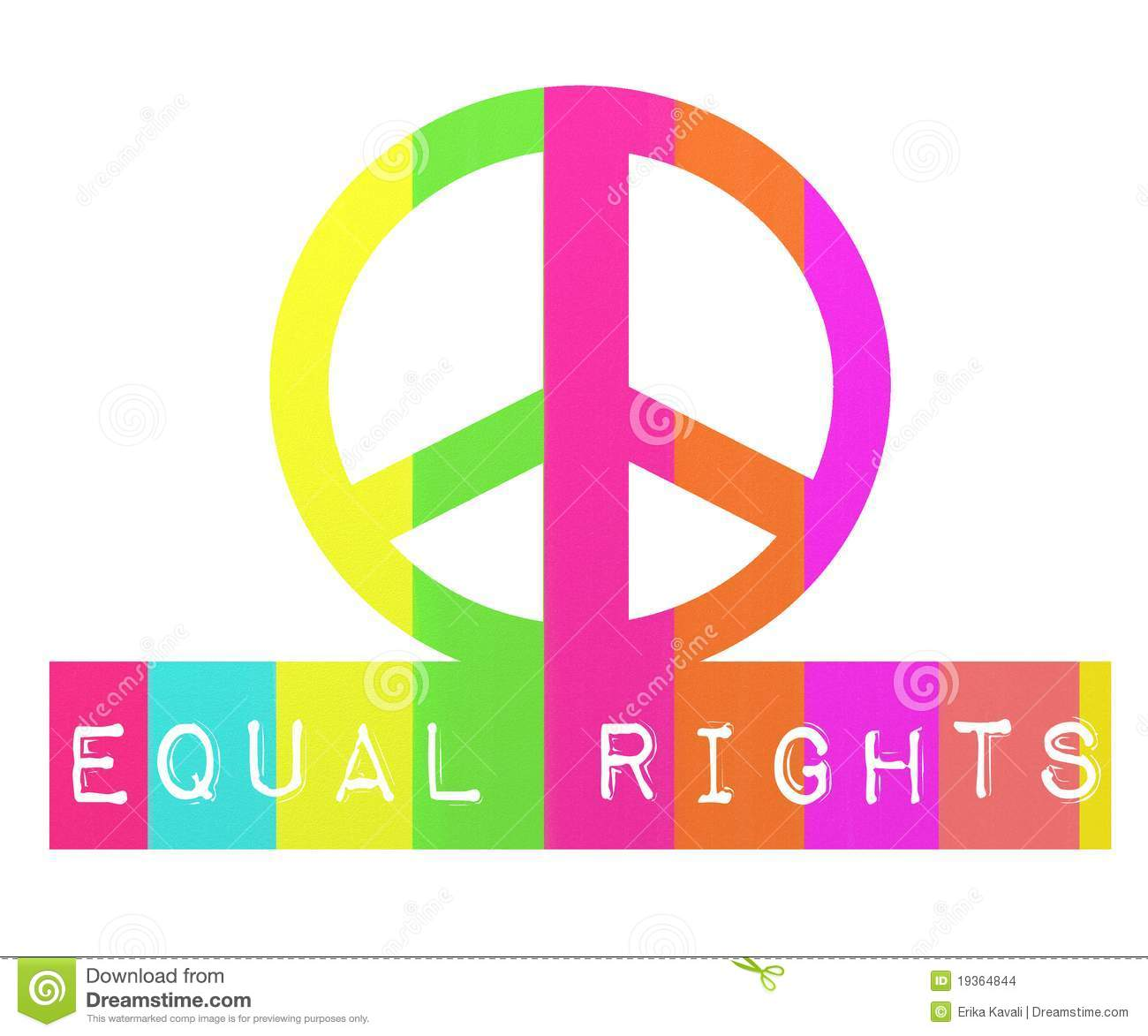 Equal Rights Stock Images Image 19364844