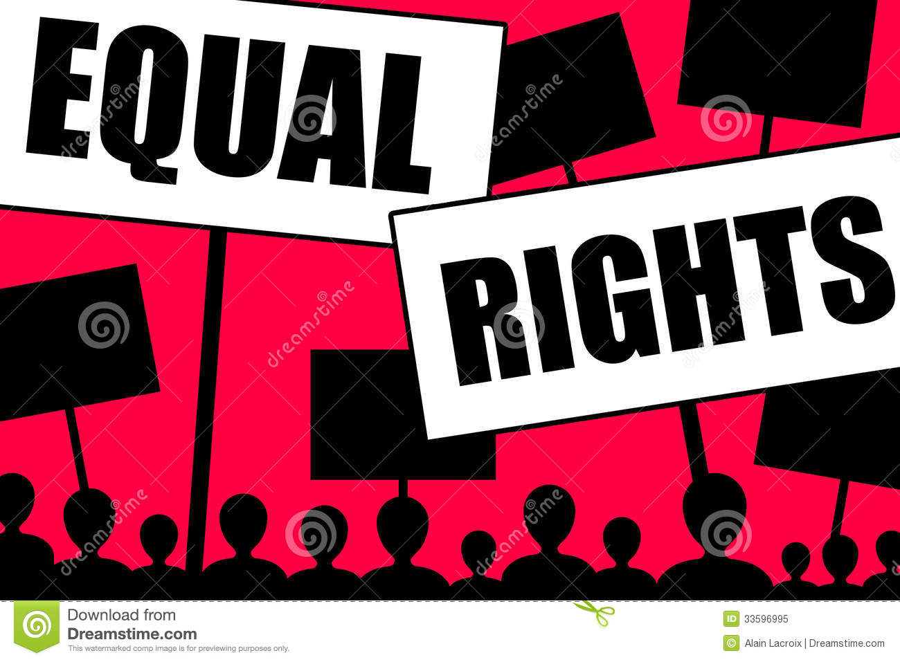 equal right Written by alice paul, the equal rights amendment was first proposed in 1923 and was subsequently reintroduced in every congressional session for half a century for 50 years, the amendment was both championed and vilified by some of both sides of the aisle.