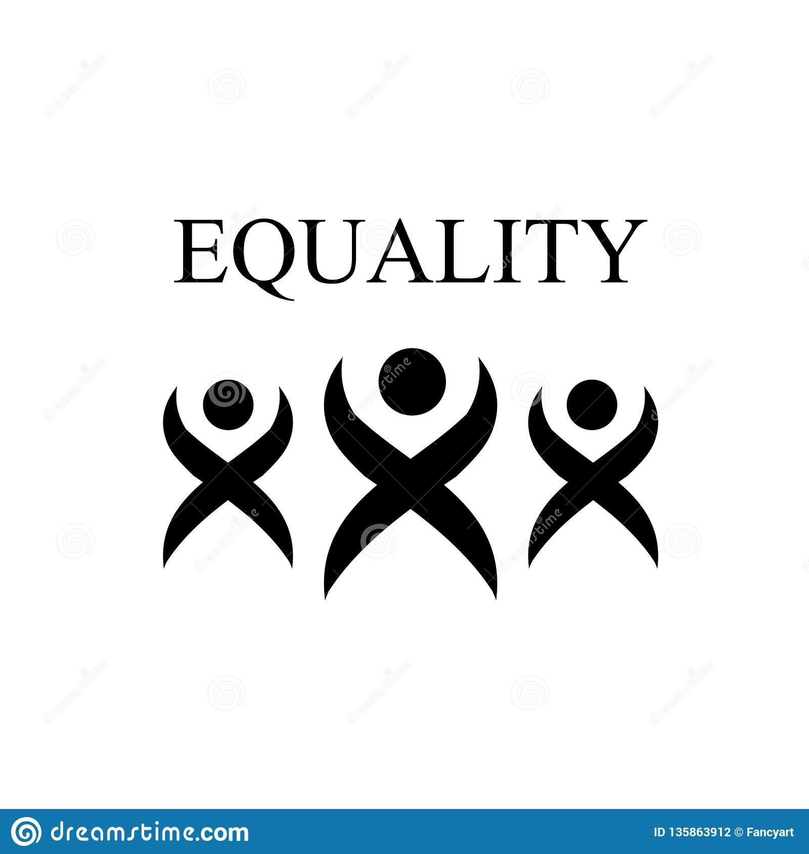 EQUALITY- International Day Of Zero Discrimination Stock Vector ...