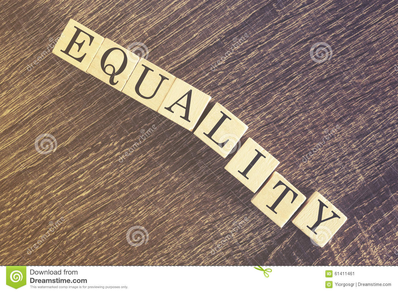 Equality message message