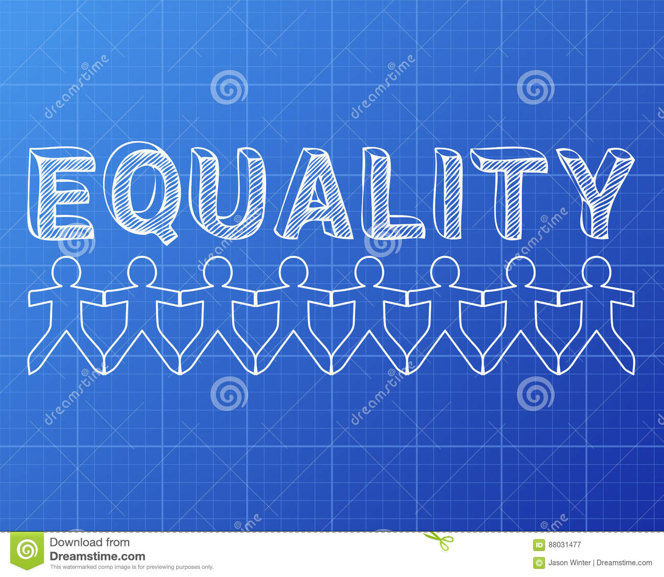 Equality people blueprint stock vector illustration of paper 88031477 download equality people blueprint stock vector illustration of paper 88031477 malvernweather Gallery