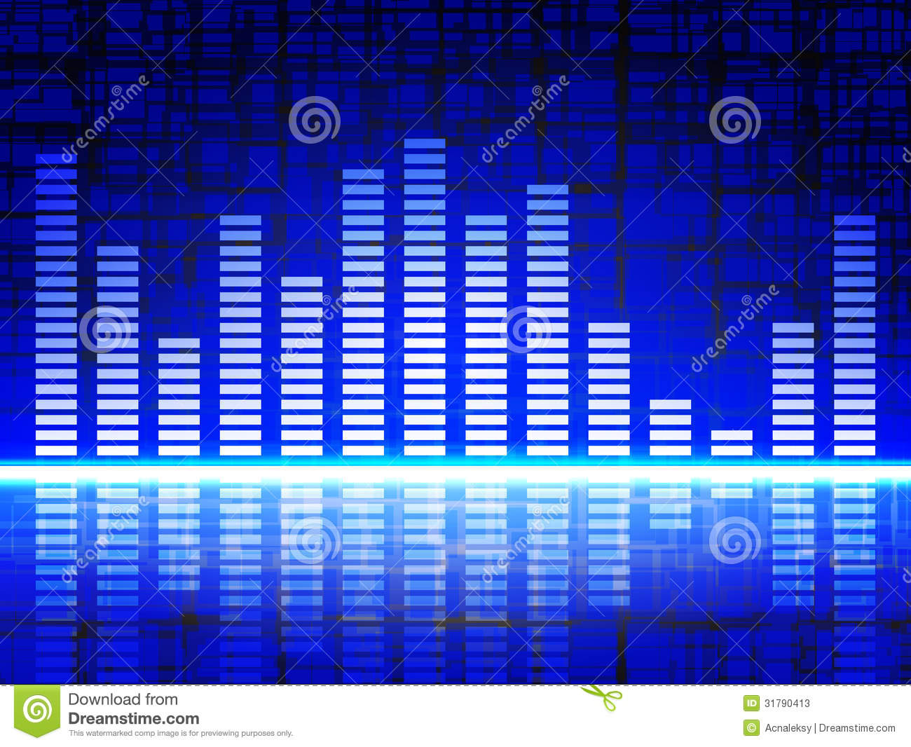 Equalizer Display Stock Photos
