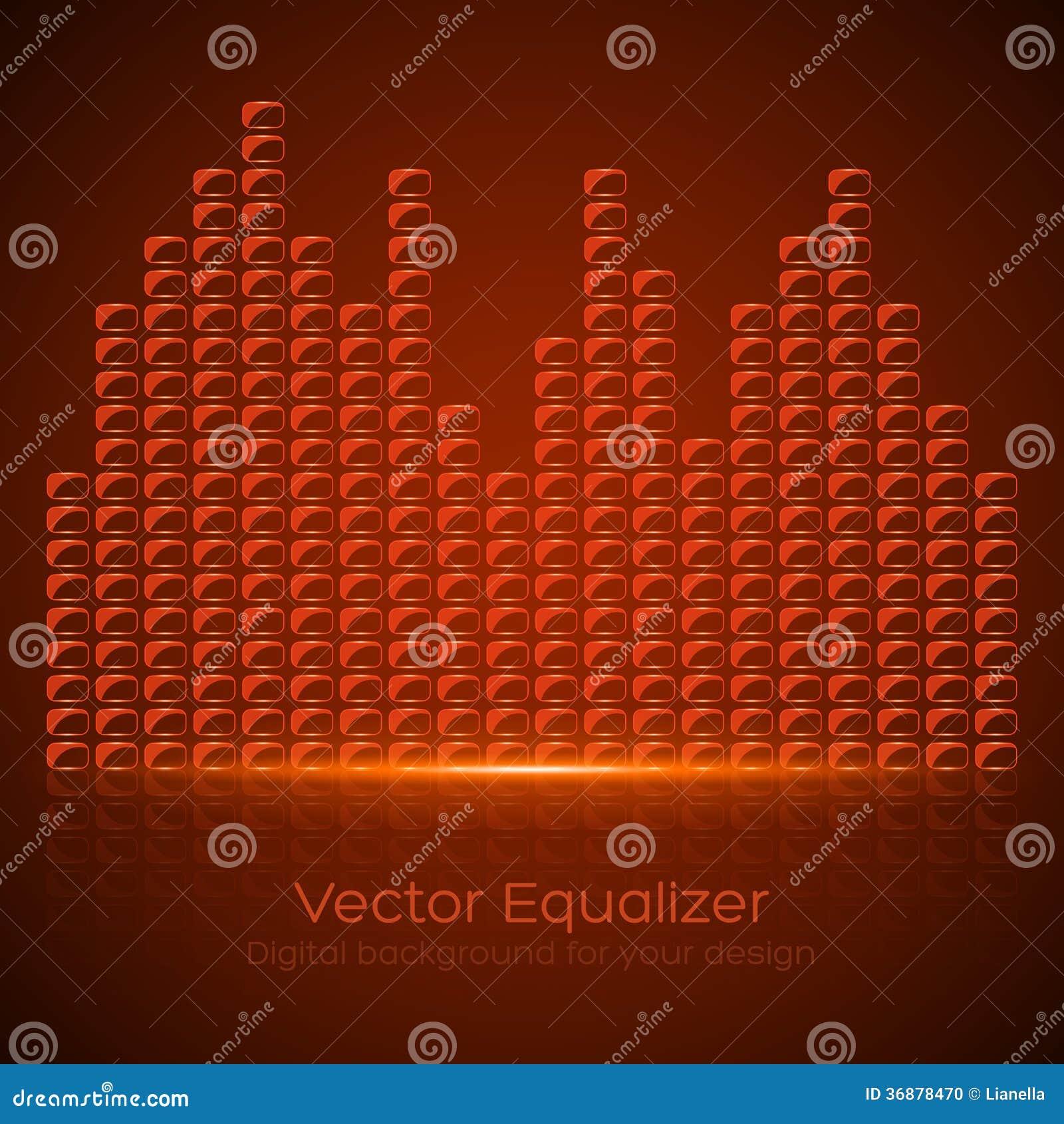Download Equalizzatore di vetro illustrazione vettoriale. Illustrazione di picco - 36878470