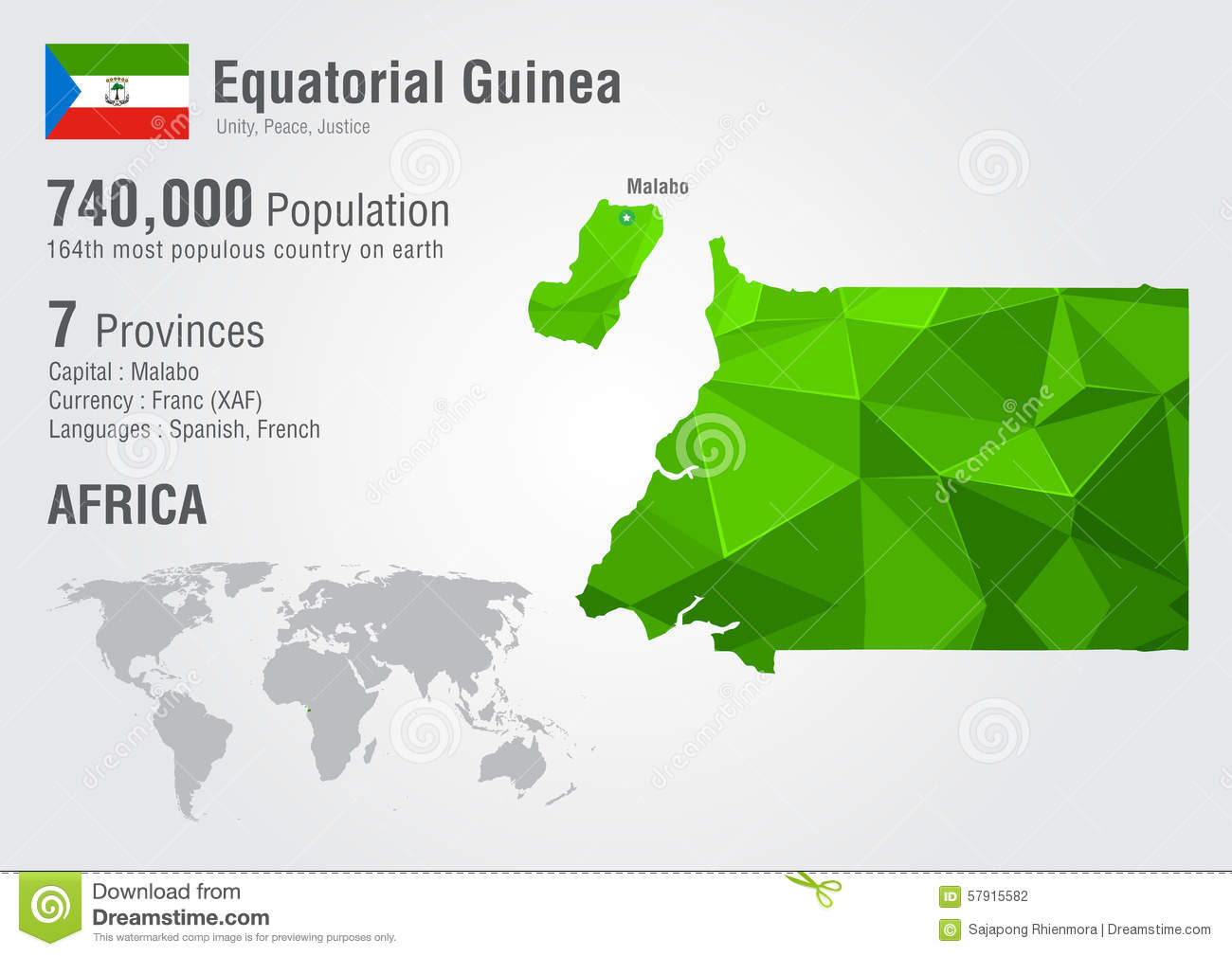 Equatorial Guinea World Map With A Pixel Diamond Texture ... on map showing algeria and guinea, map of equatorial guinea in madrid, the capital of guinea ecuatorial in spanish, map of nigeria biafra, guinea ecuatorial map in spanish, map of africa, map of only equatorial guinea, map of mbini river, map of equatorial guinea in spain,