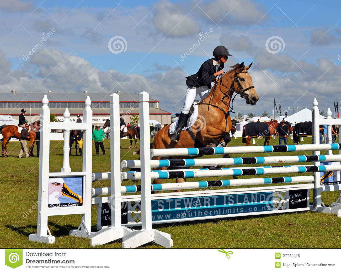 Equestrian At The 2012 Canterbury A P Show Editorial Stock