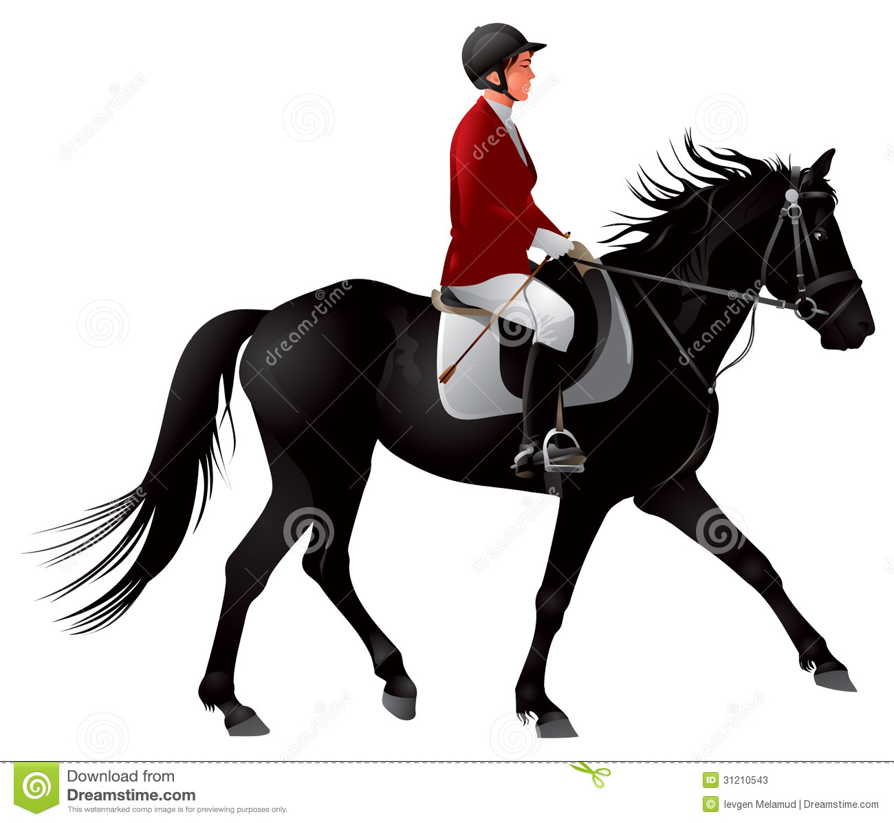 clip art dressage horse - photo #47
