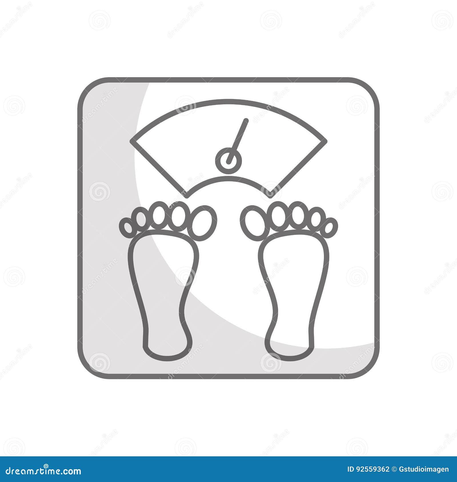 Equilibrio del corpo del peso