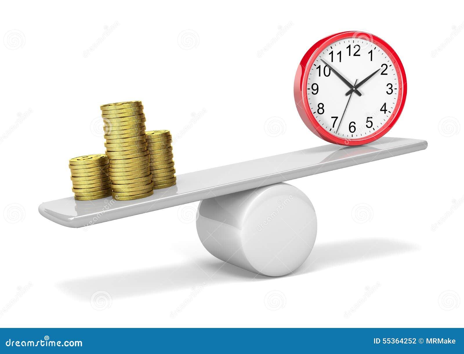 Equilibrio di tempo dei soldi