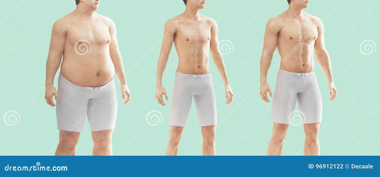grasso corporeo per i maschio