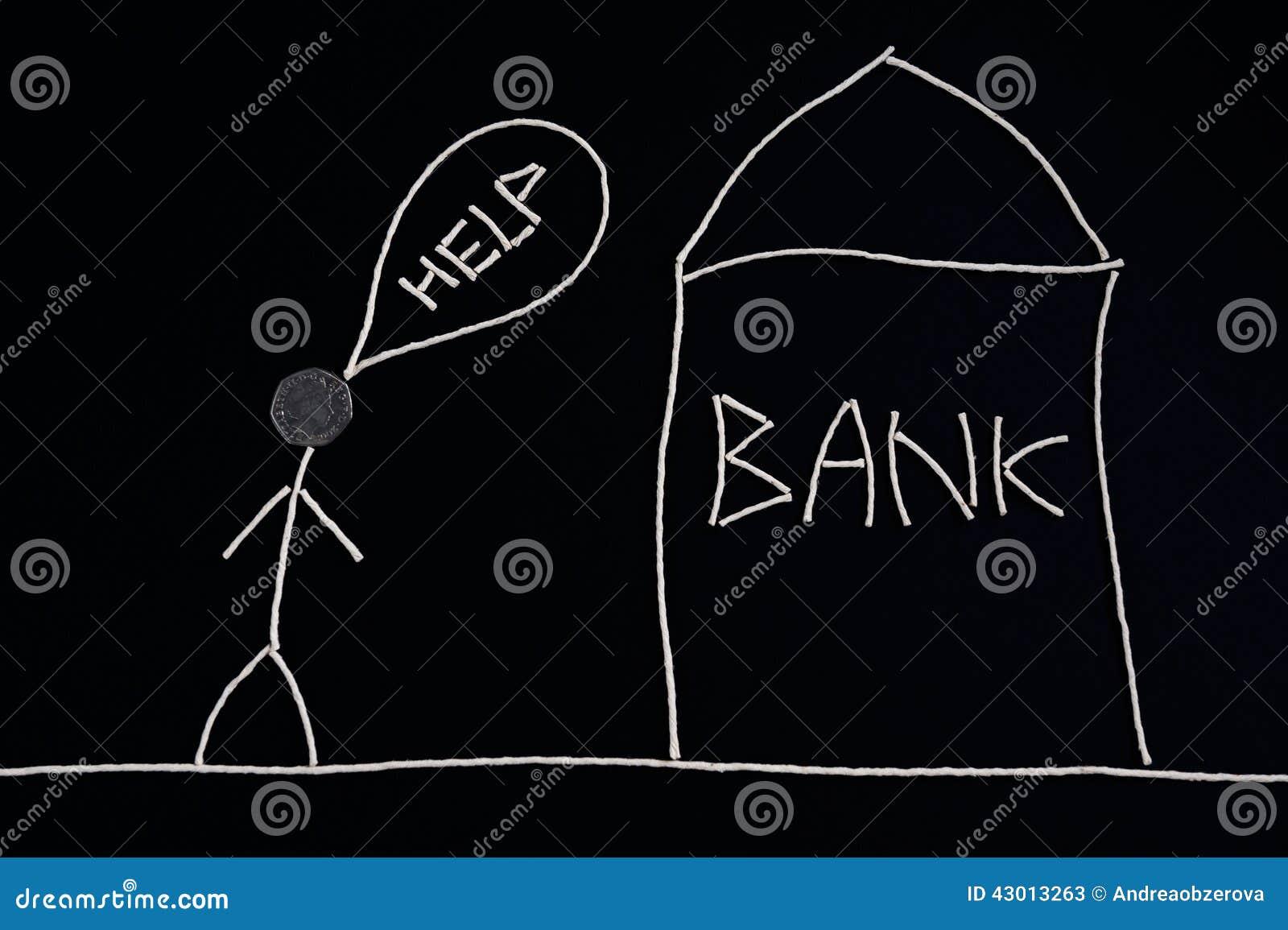 Equipaggi il ricerca dell aiuto finanziario, andante contare, concetto dei soldi, insolito