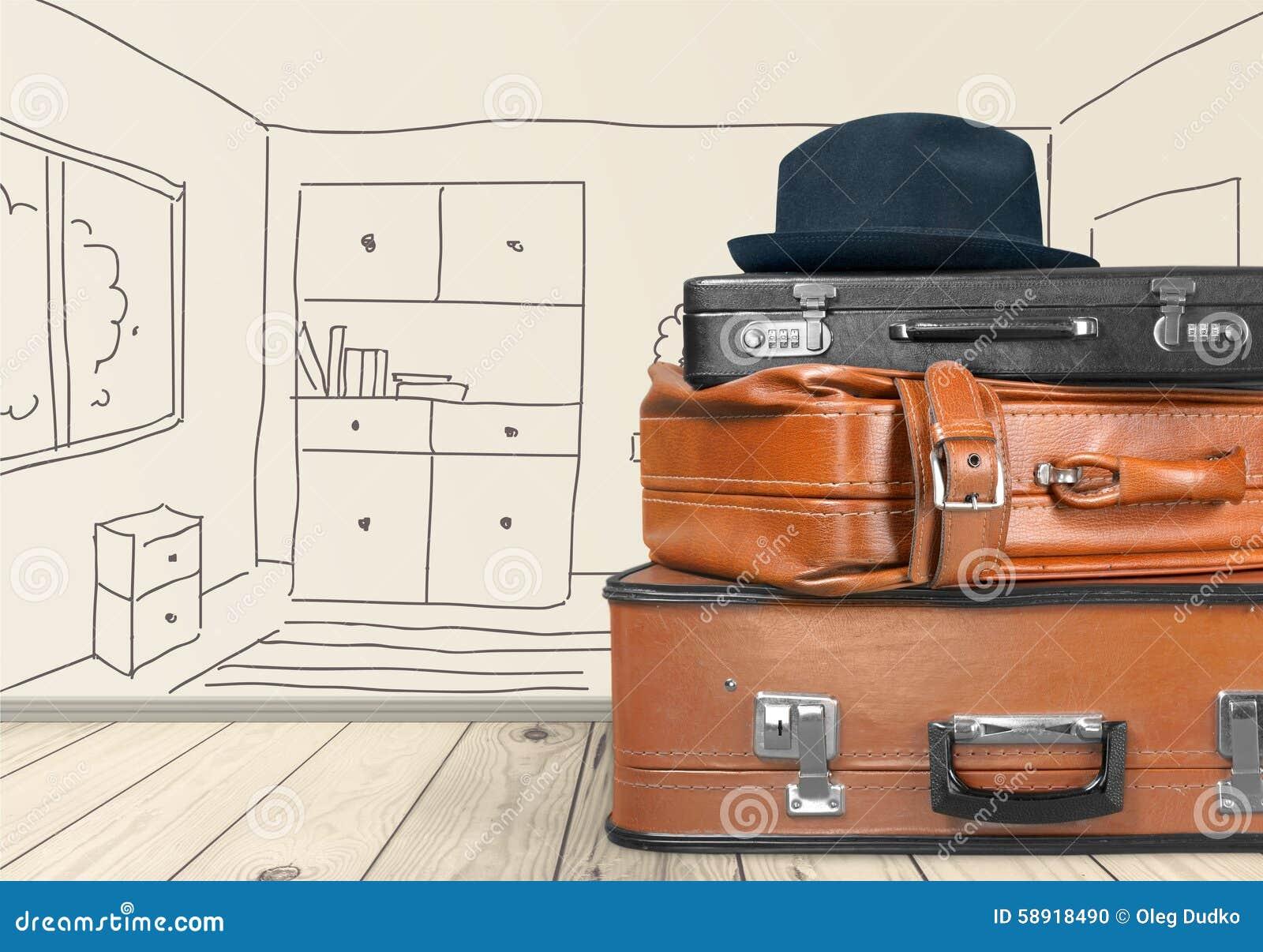 Equipaje de la maleta