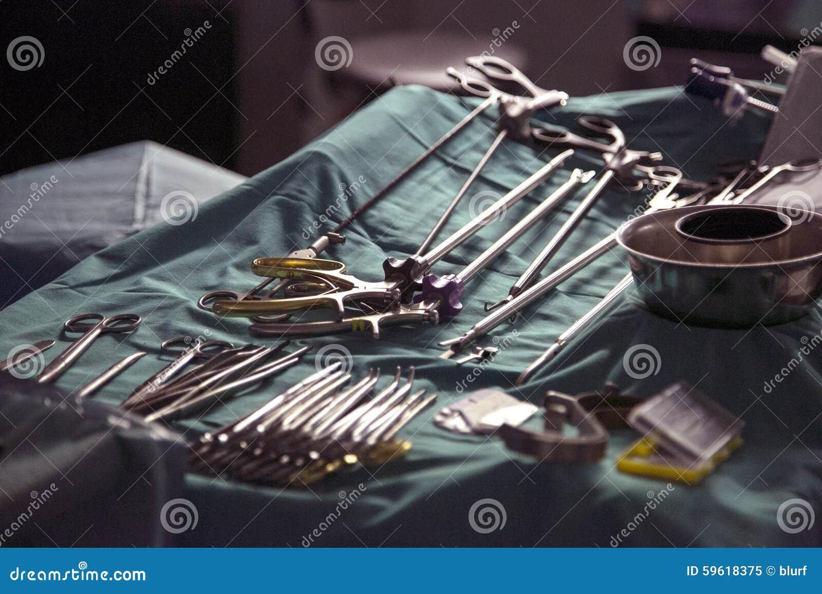Equipamento da cirurgia