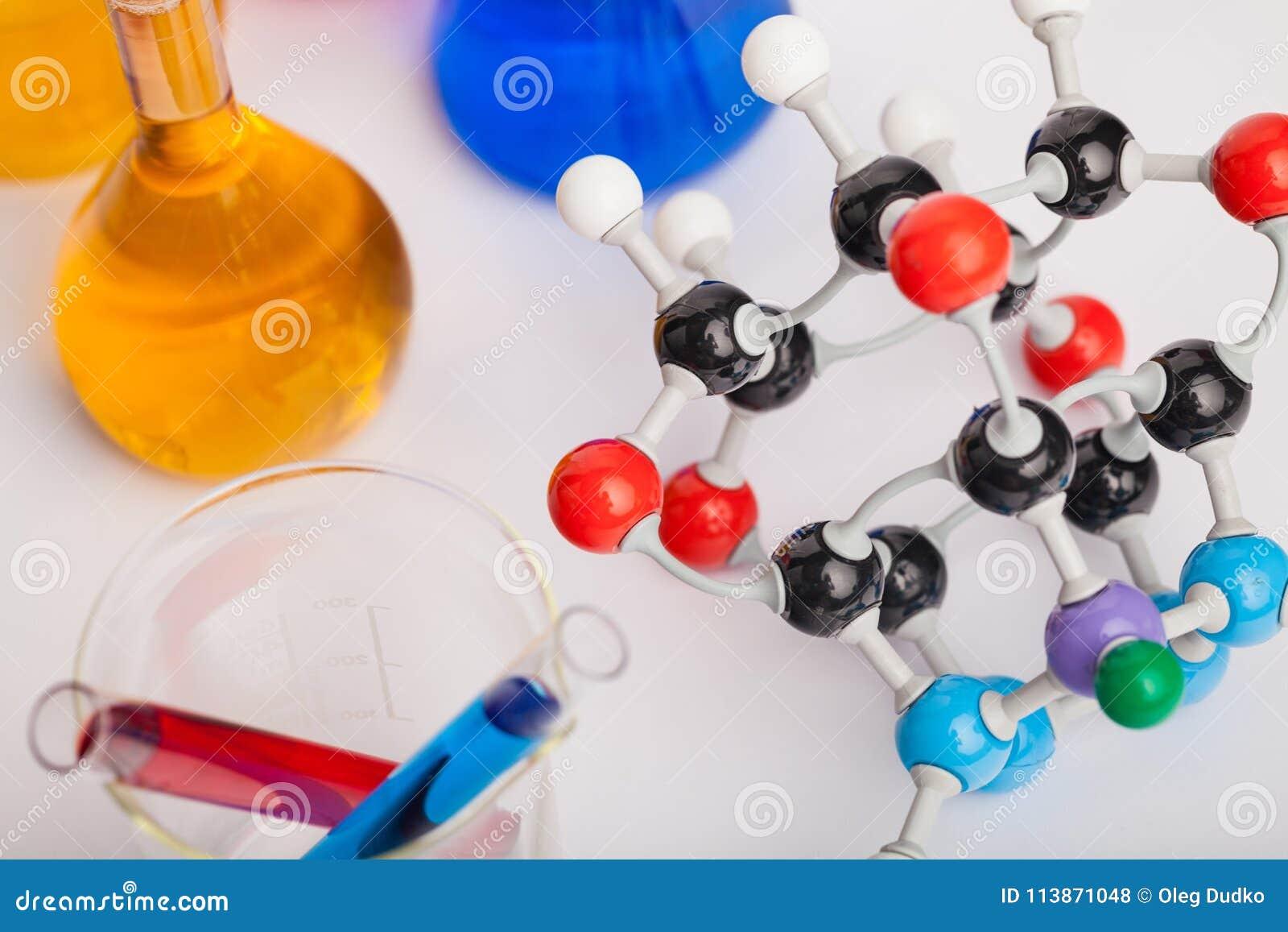 Equipamento de laboratório da química