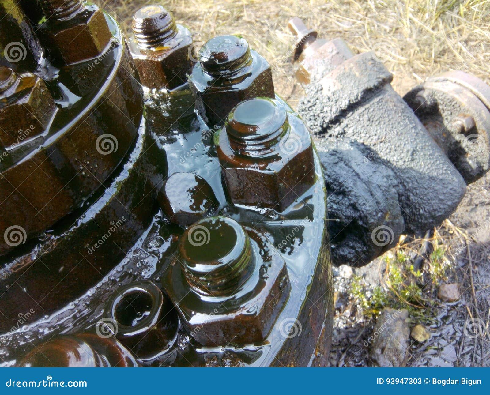 Equipamento do óleo