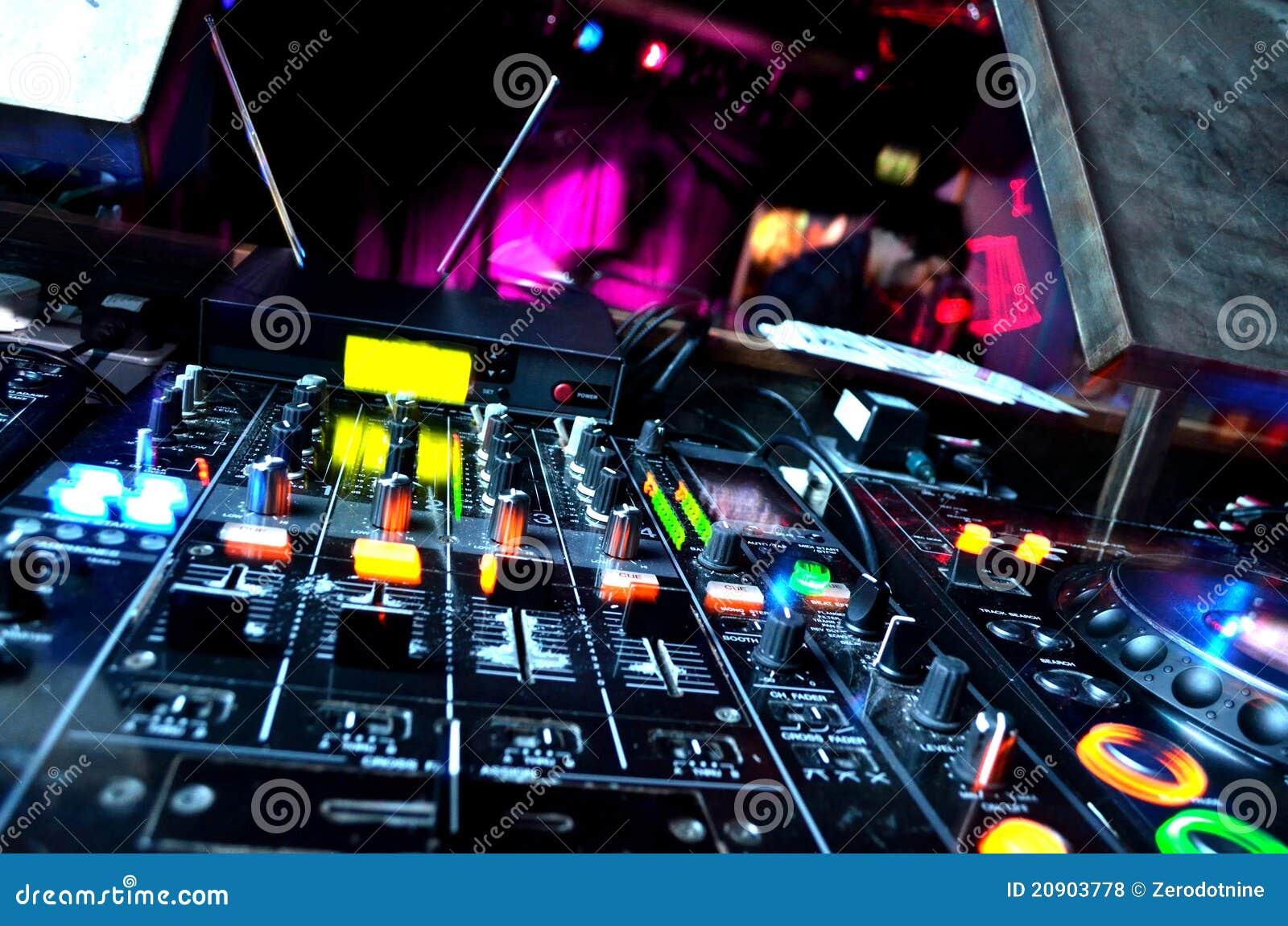 Equipamento do DJ