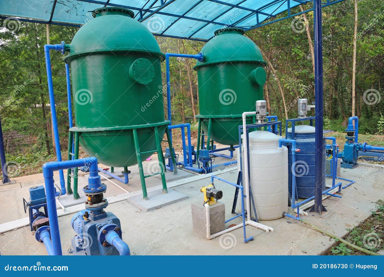 Equipamento do tratamento da água