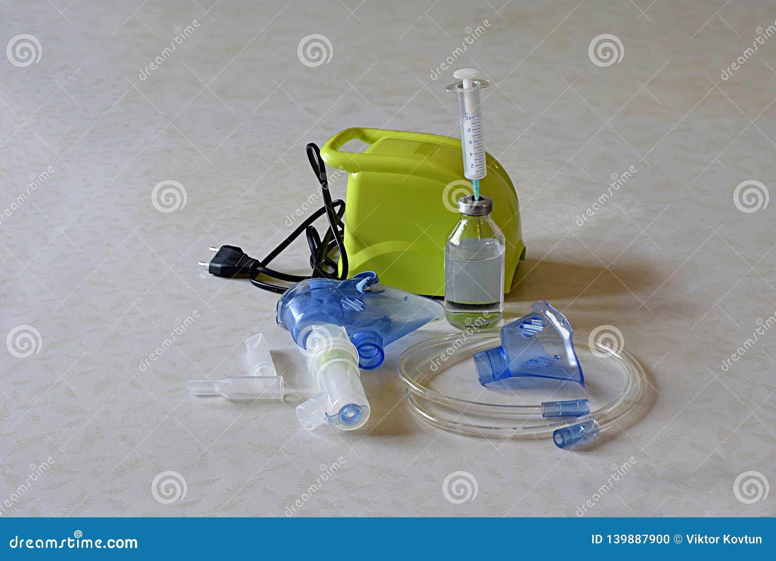 Equipamiento médico para la inhalación