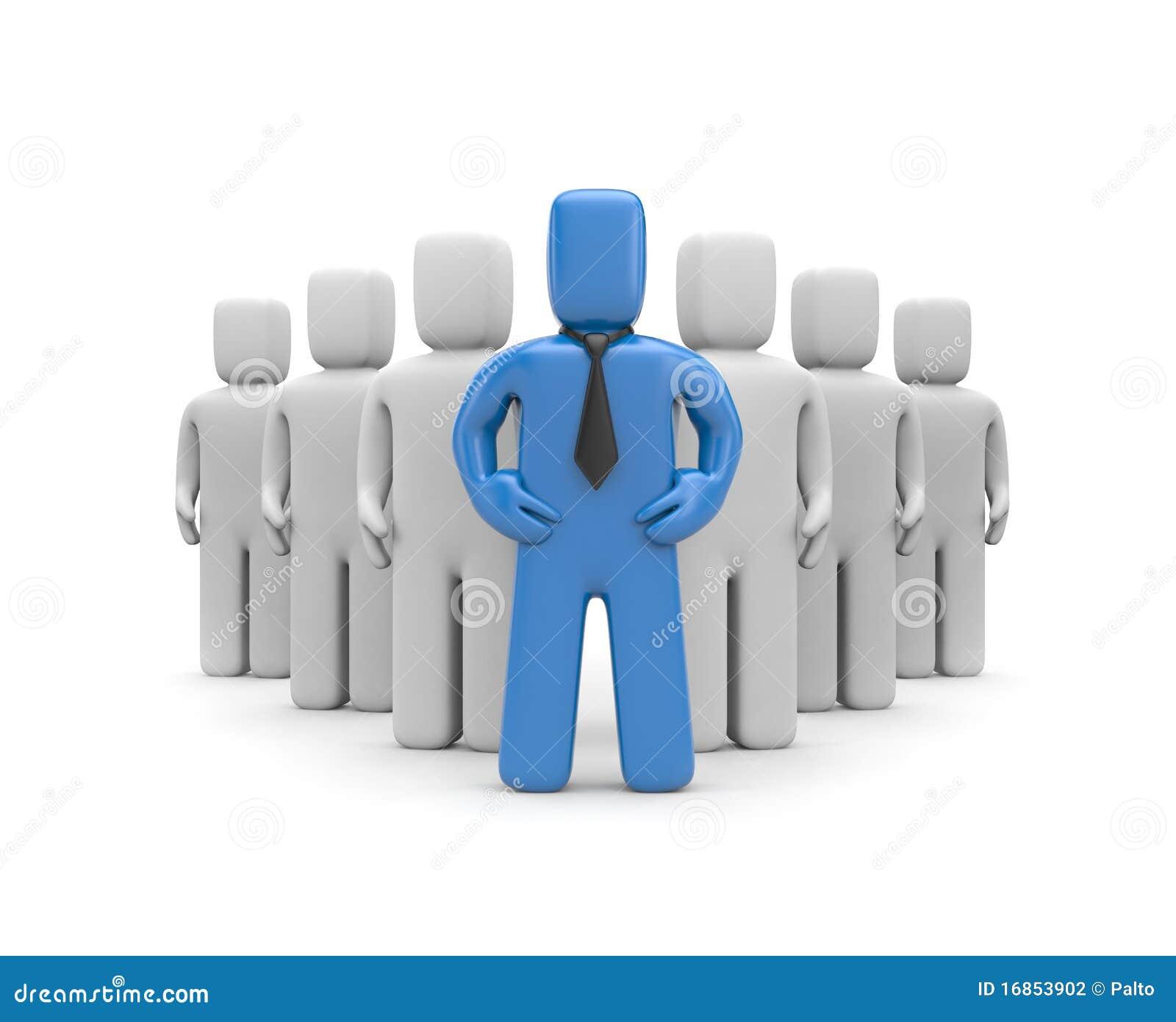 Equipe com líder