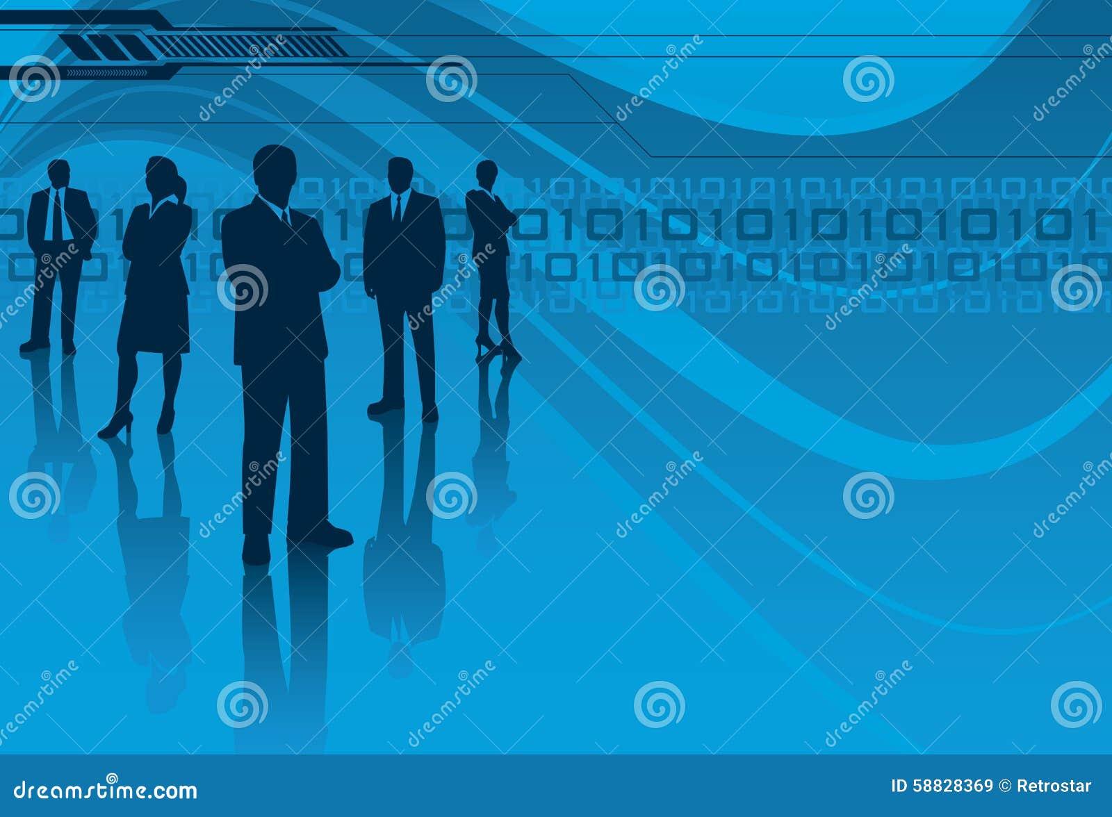 Equipe da tecnologia da informação