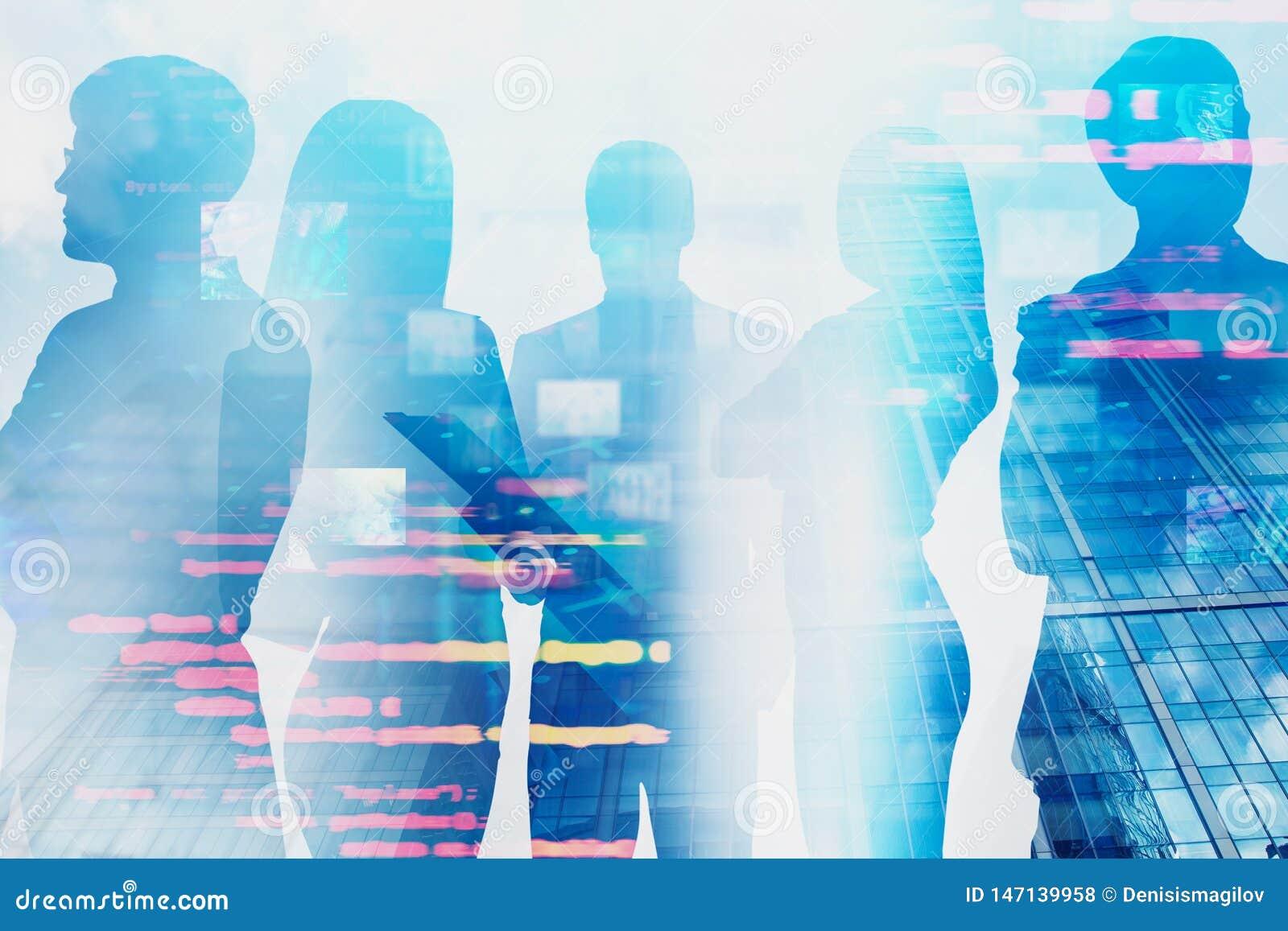 Equipe de coordenadores de computador, relação da informação