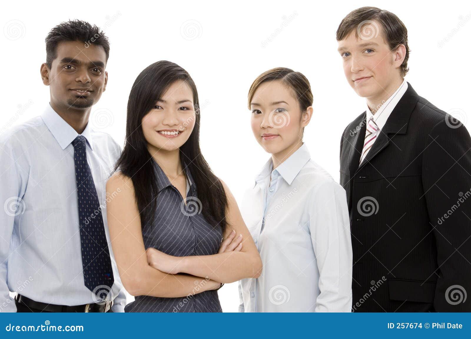 Equipe diversa 1 do negócio