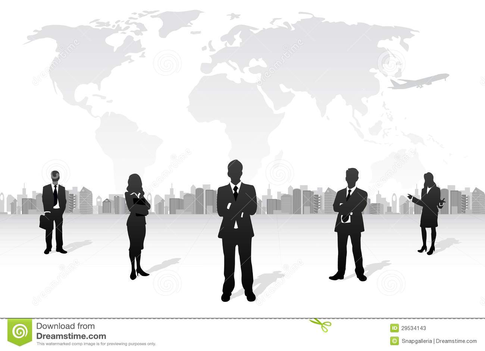 Equipe do negócio