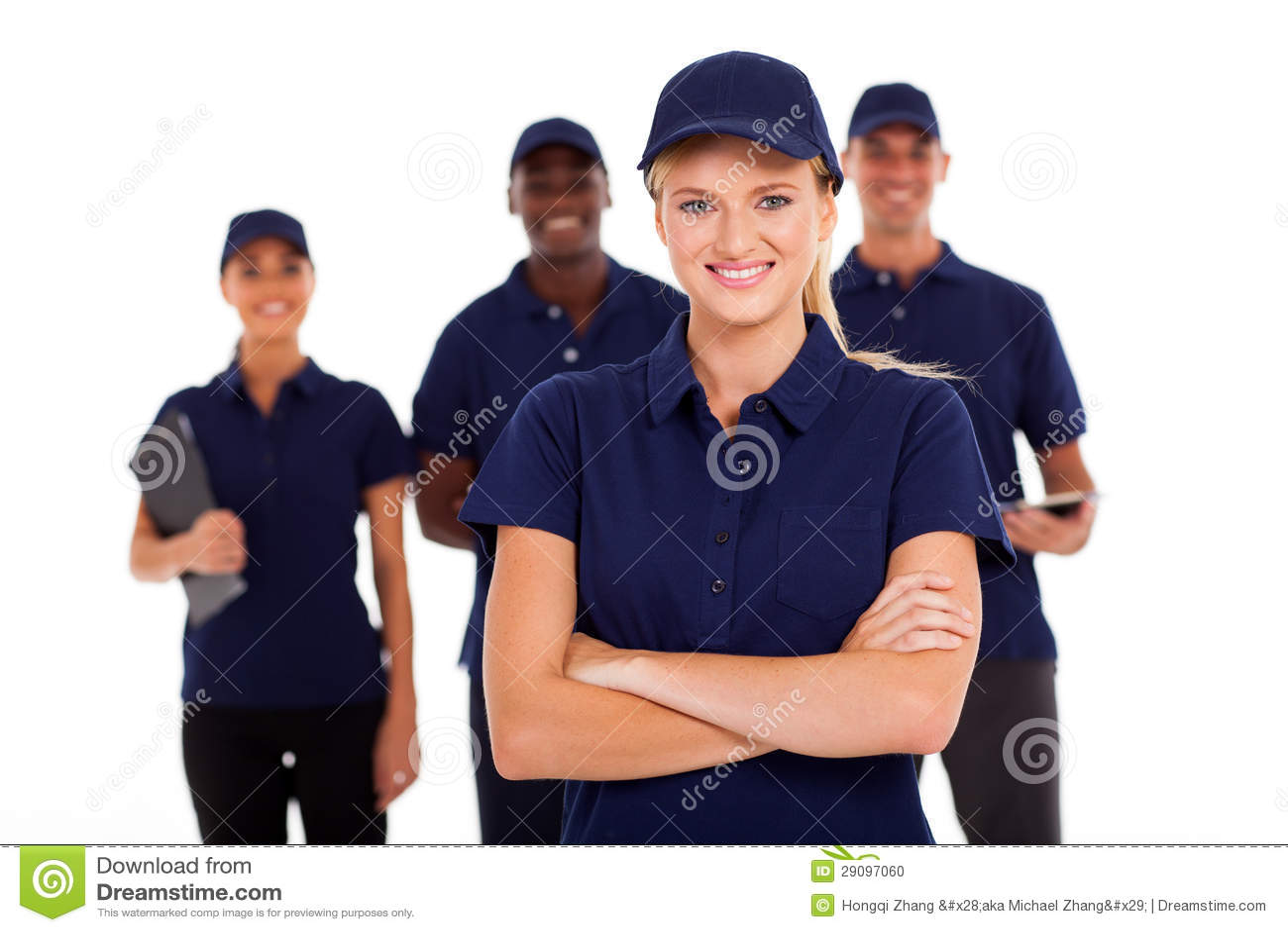Equipe do serviço técnico