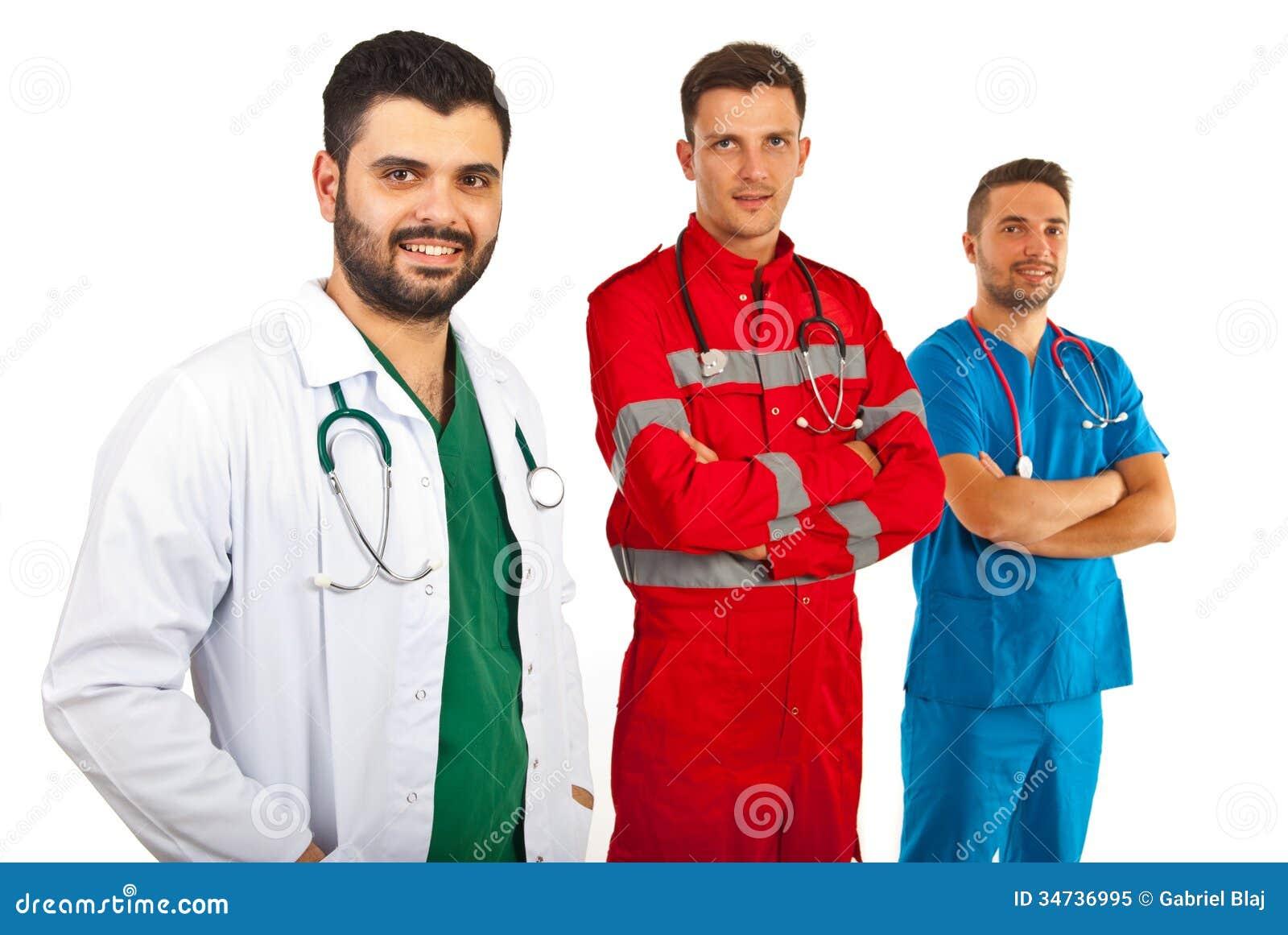 Equipe dos doutores