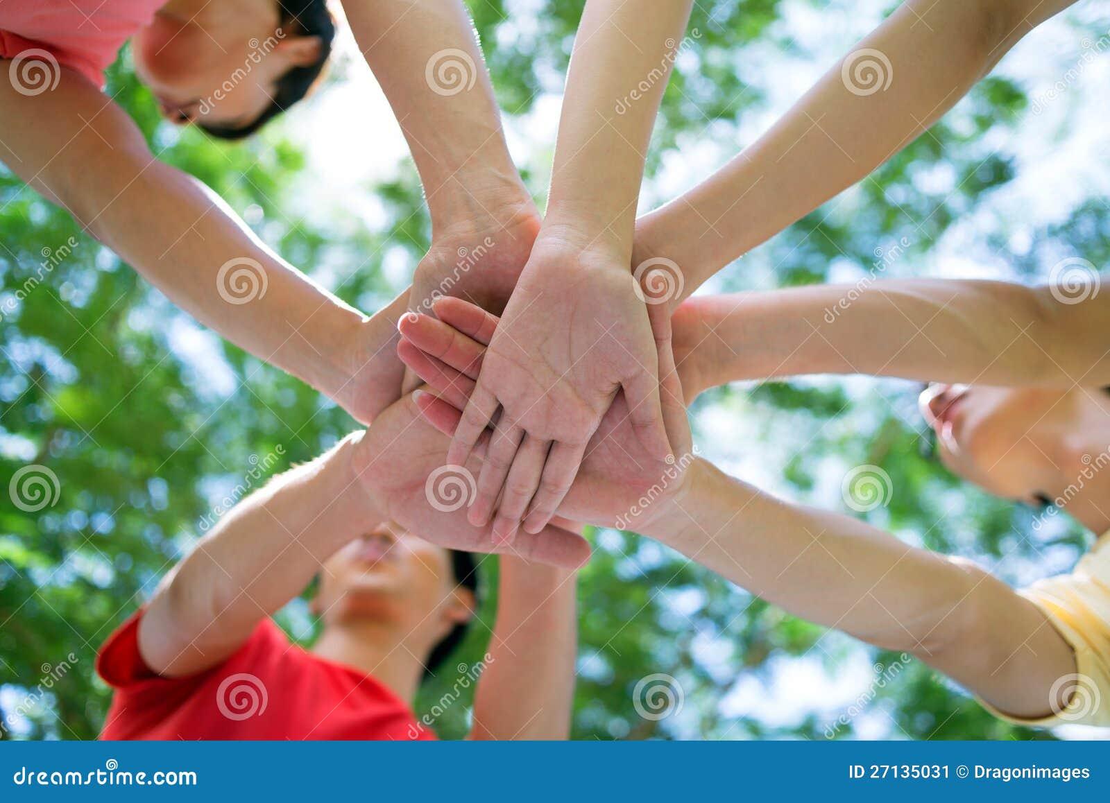 Equipe dos estudantes