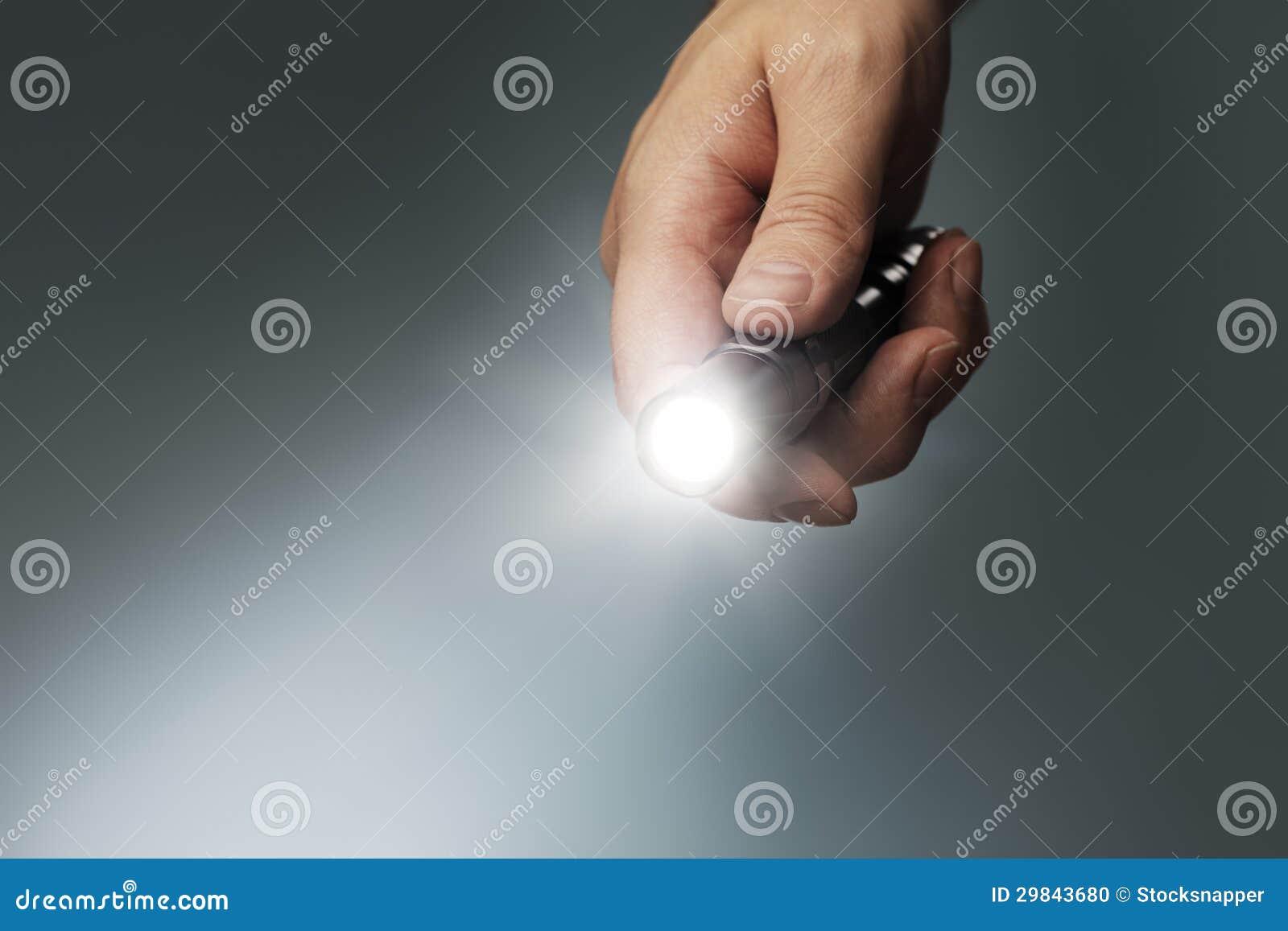 Lanterna elétrica do diodo emissor de luz