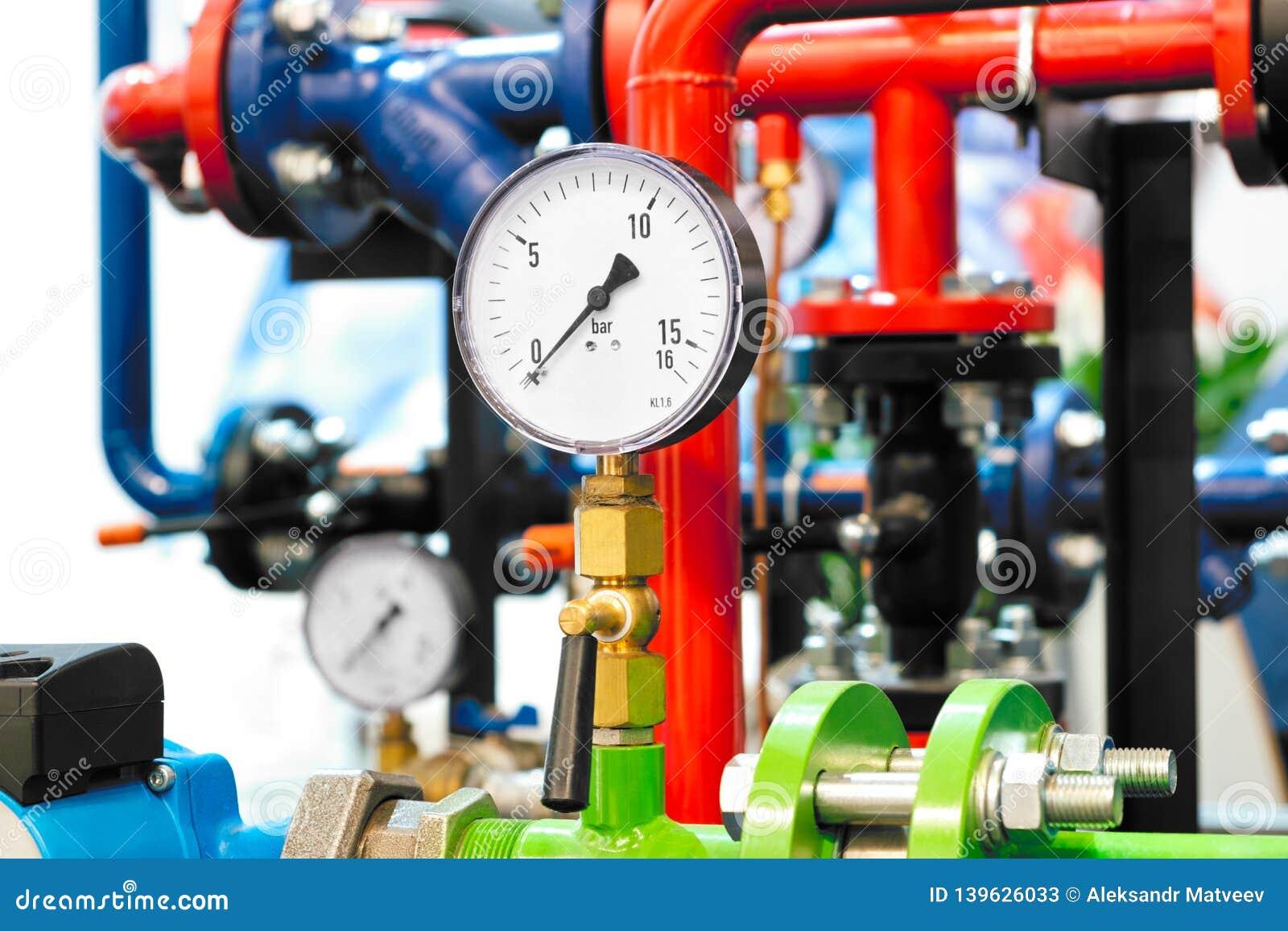 The Equipment Of The Boiler-house, - Valves, Tubes, Pressure