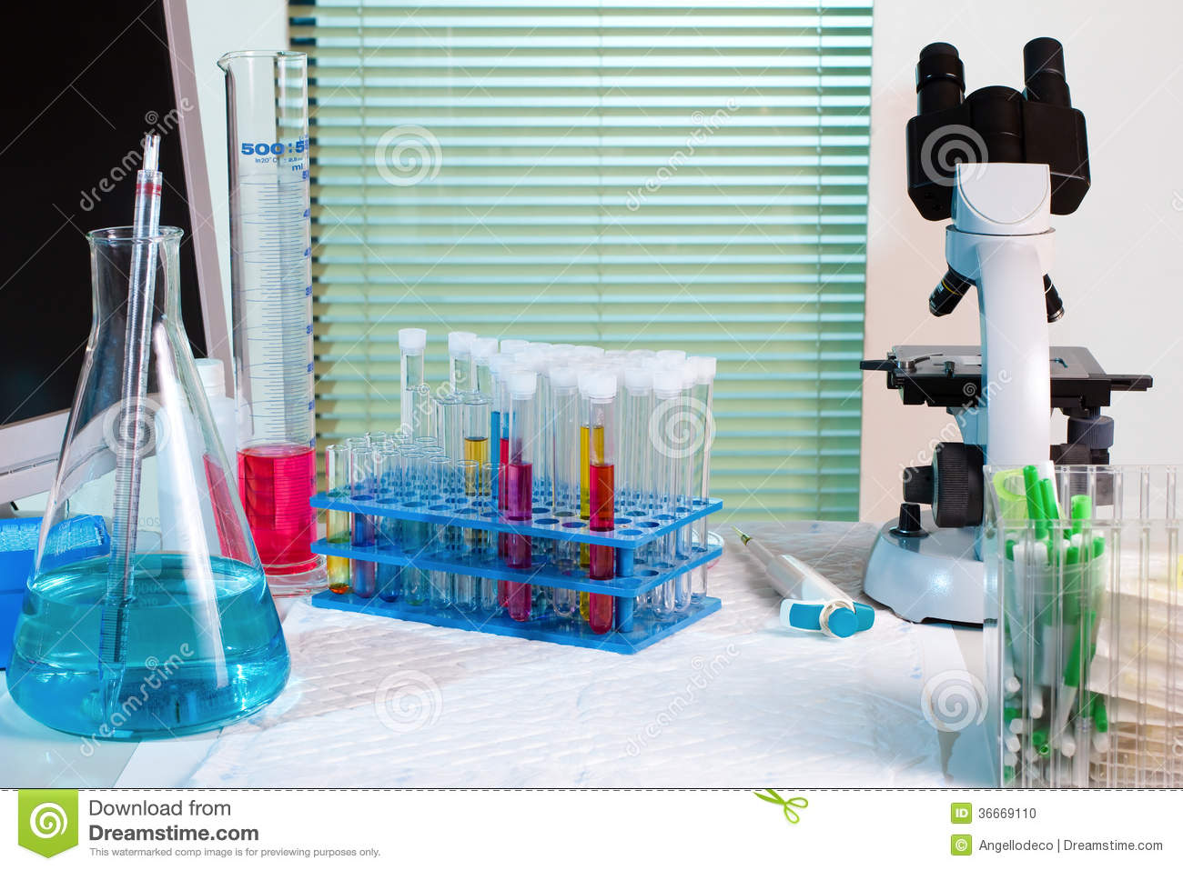 Equipment For Experiments Stock Photo Image Of Experiment