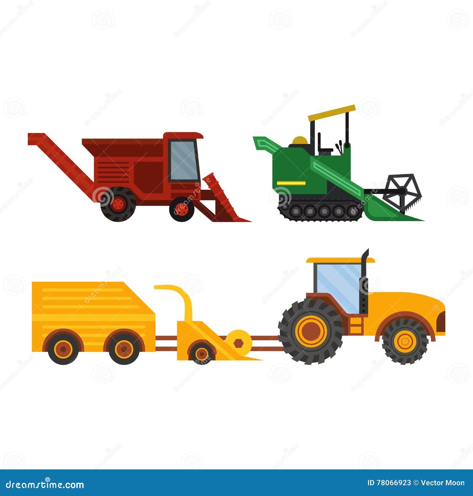 Tractor Cartoon Picker : Excavators cartoons illustrations vector stock images